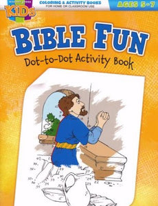 Bible Fun Dot-To Dot Activity Book (Ages 5-7)