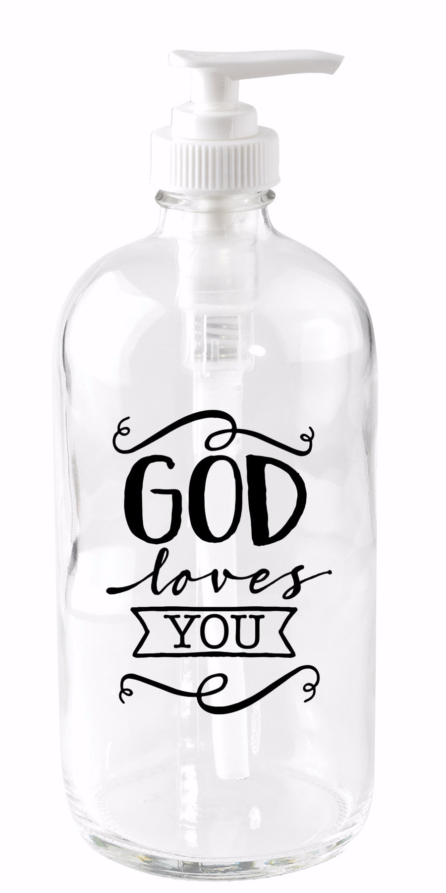 Soap Dispenser-God Loves You