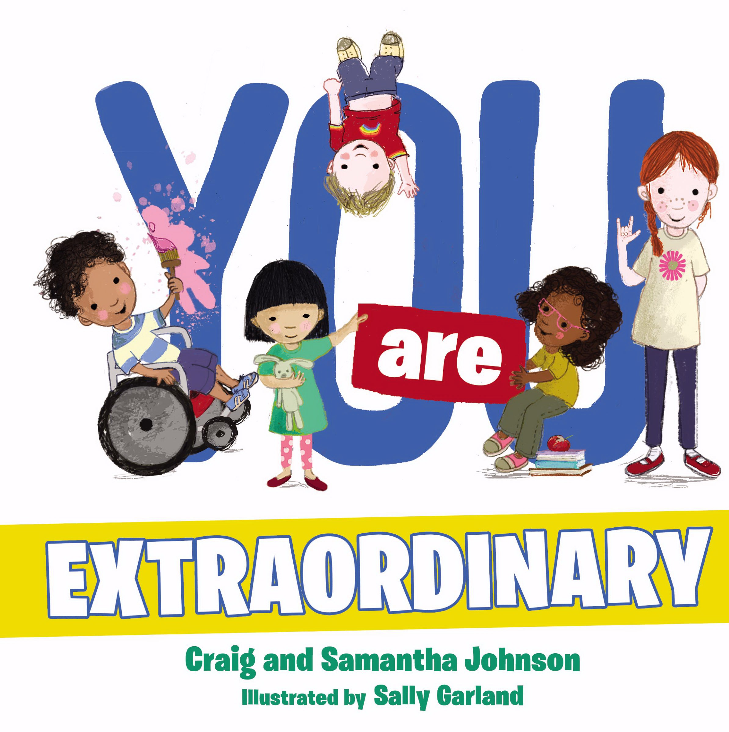 You Are Extraordinary Board Book