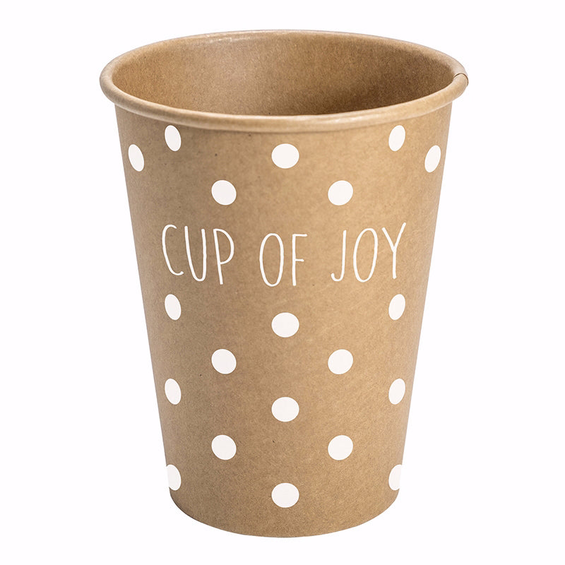 Paper Cups-Cup Of Joy (12 Oz) (Pack Of 10)