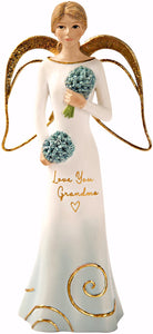 "Figurine-Angel-Love You Grandma (5.5"")"