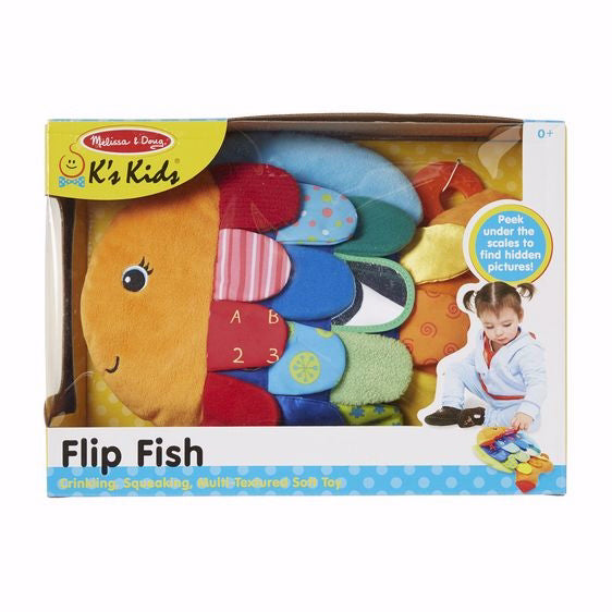 Toy-Flip Fish Baby Toy (All Ages)