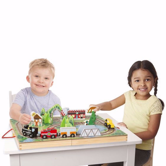 Toy-Take-Along Railroad (17 Pieces) (Ages 3+)