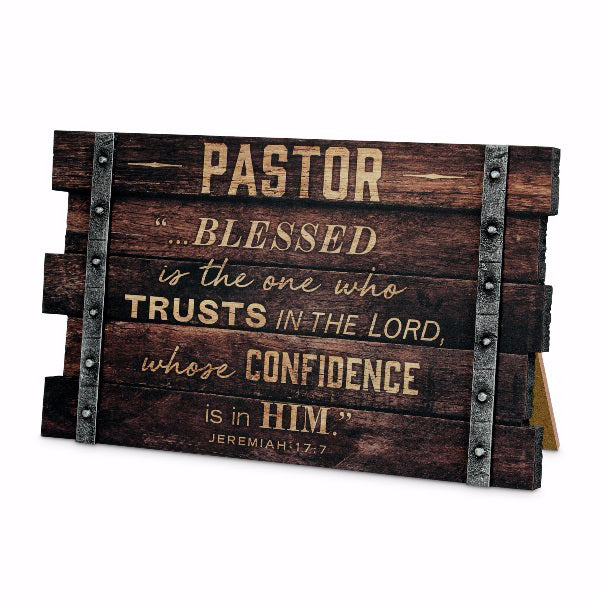 Plaque-Wall-Desktop-MDF-Farmhouse-Pastor