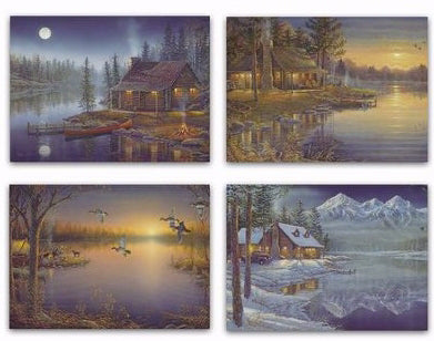 Card-Boxed-Birthday-Woods & Water (Box Of 12)