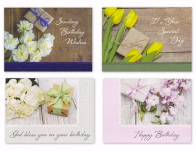 Card-Boxed-Birthday-Gifts Of Love (Box Of 12)
