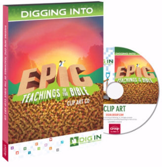Dig In Epic Teachings Of The Bible Clip Art CD