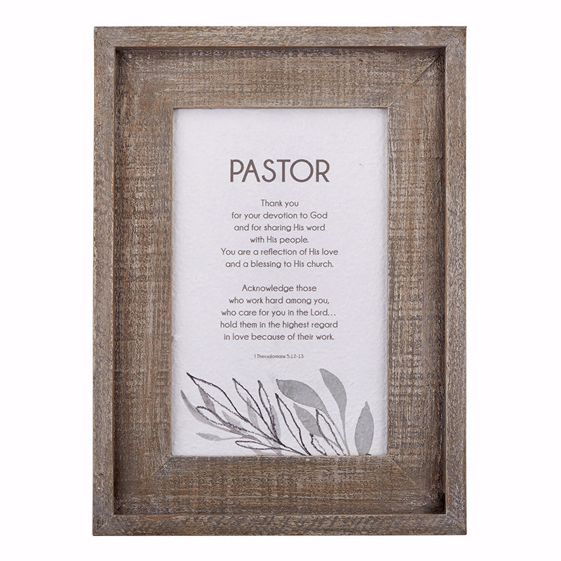 "Framed Art-Pastor (11"" x 15"")"