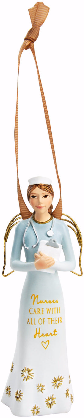 "Ornament-Angel-Comfort Collection-Nurse (4.5"")"