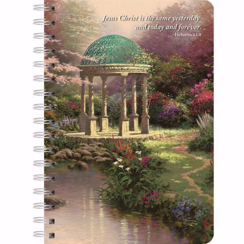 Journal-Pools Of Serenity w-Scripture (6.75 x 8.25)