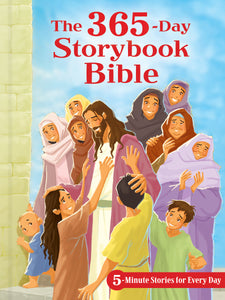 365-Day Storybook Bible-Padded Hardcover
