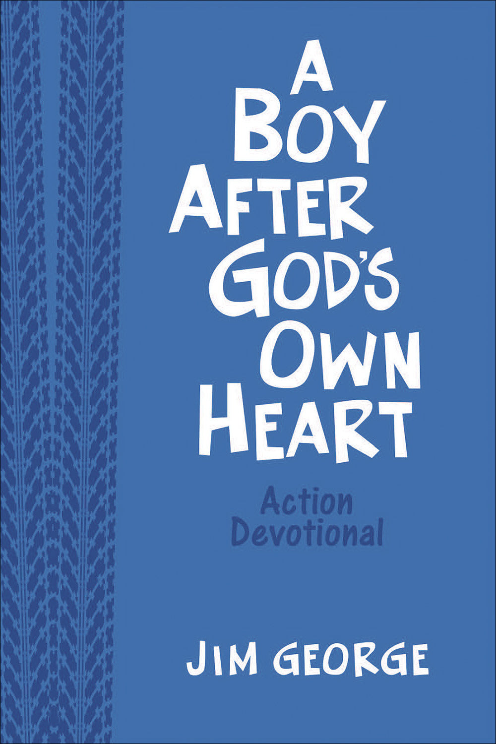 A Boy After God's Own Heart Action Devotional-Blue Milano Softone