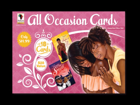 Card-Boxed-All Occasion Assortment #AOAB-740 (Box Of 18)