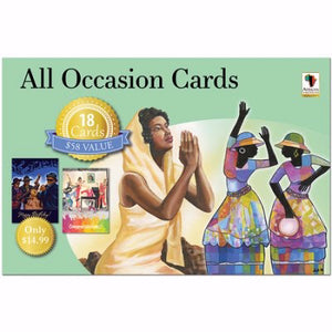Card-Boxed-All Occasion Assortment #AOAB-720 (Blue Box) (Box Of 18)