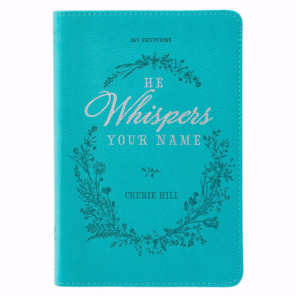 He Whispers Your Name-Teal LuxLeather