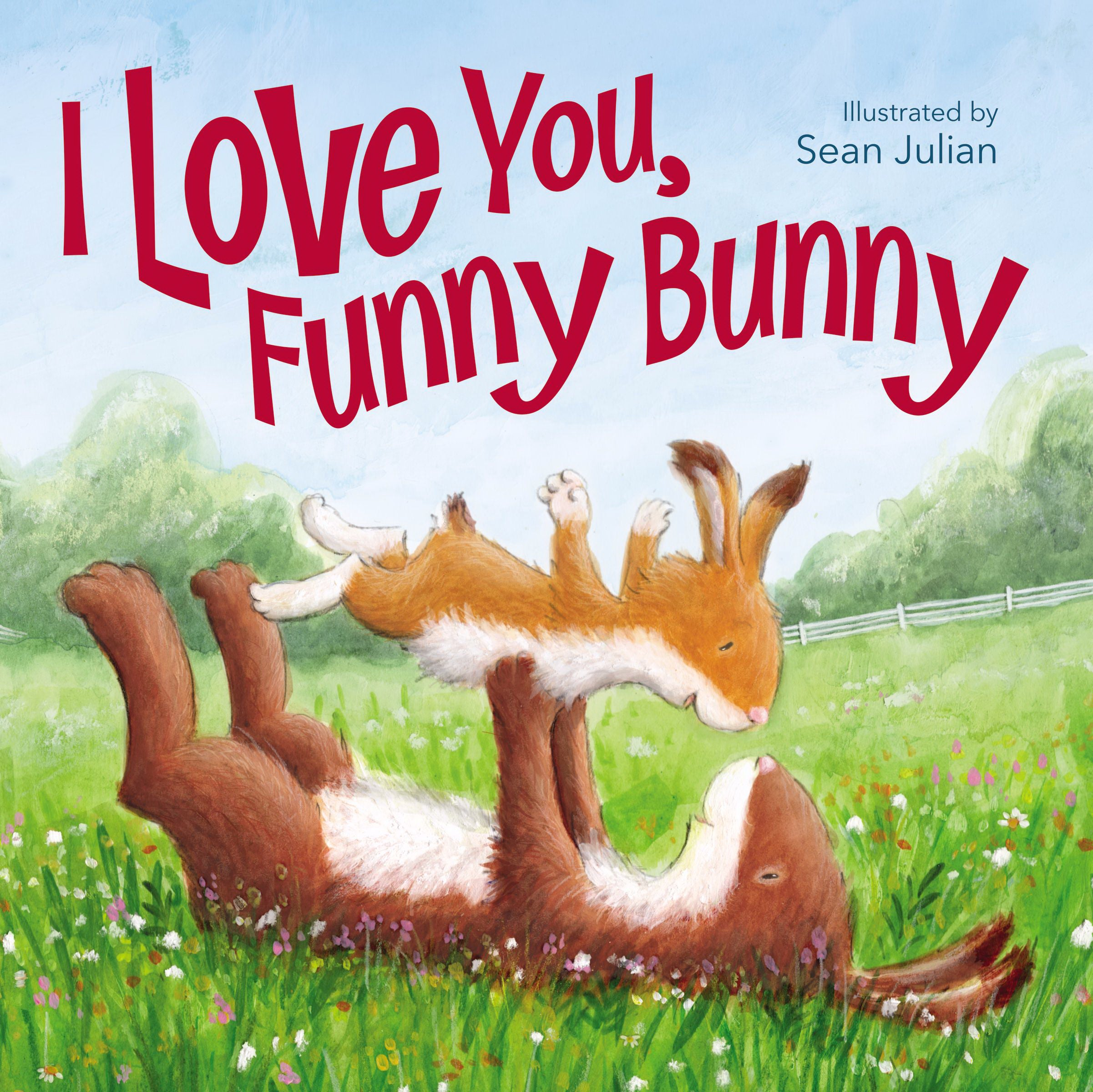 I Love You  Funny Bunny-Hardcover