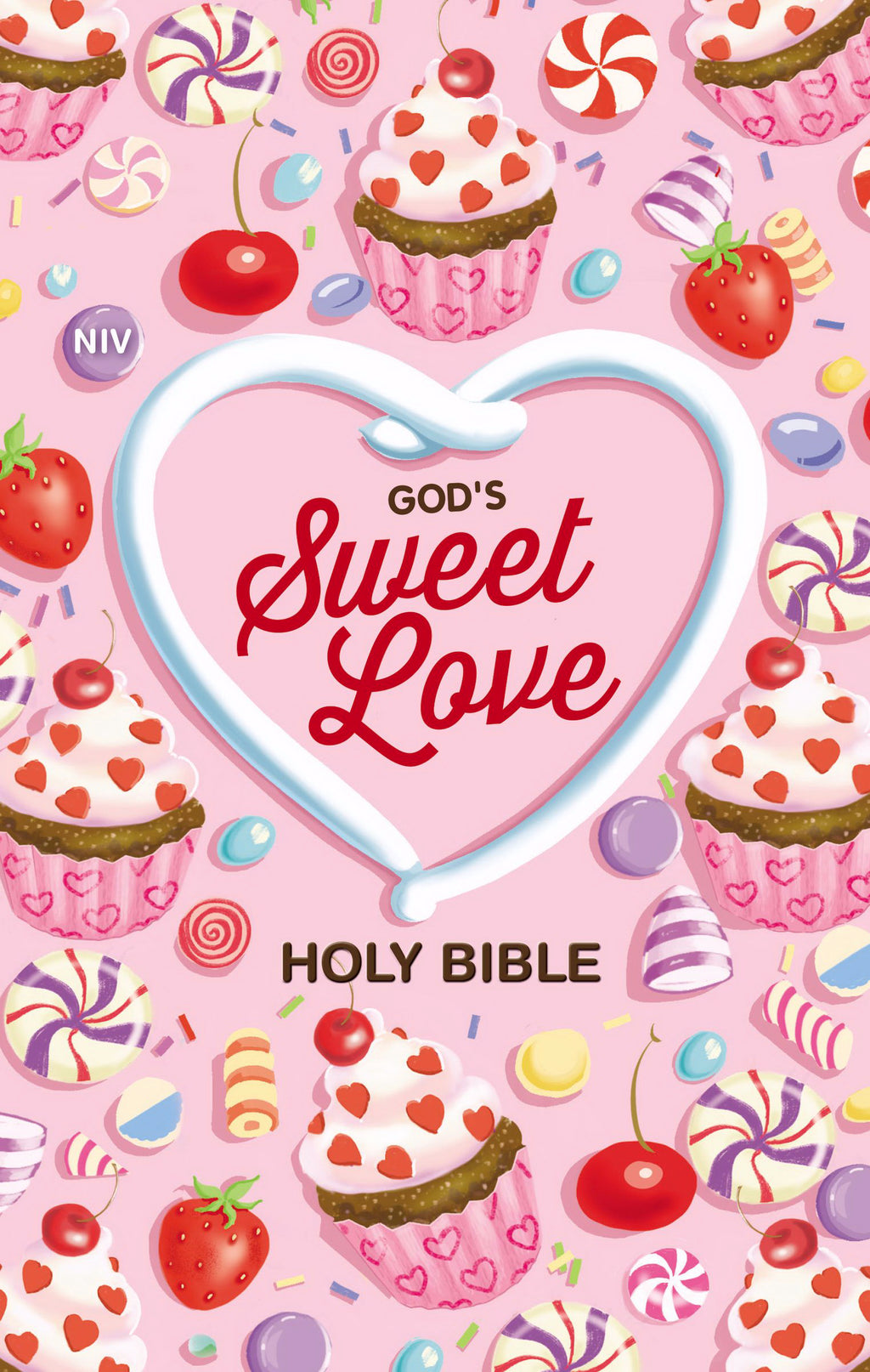 NIV God's Sweet Love Holy Bible (Comfort Print)-Hardcover