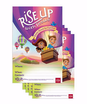 Rise Up With Jesus: Publicity Posters (Pack Of 5)