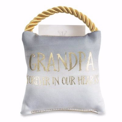 Memorial Pillow-Grandpa (4 x 4)