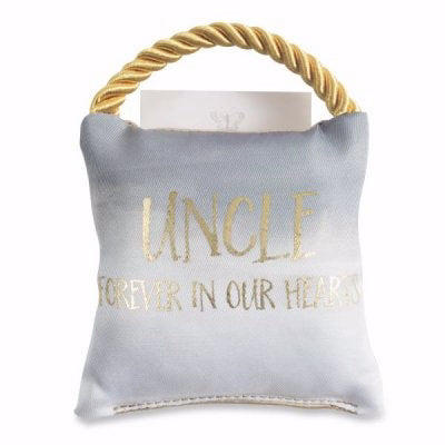 Memorial Pillow-Uncle (4 x 4)