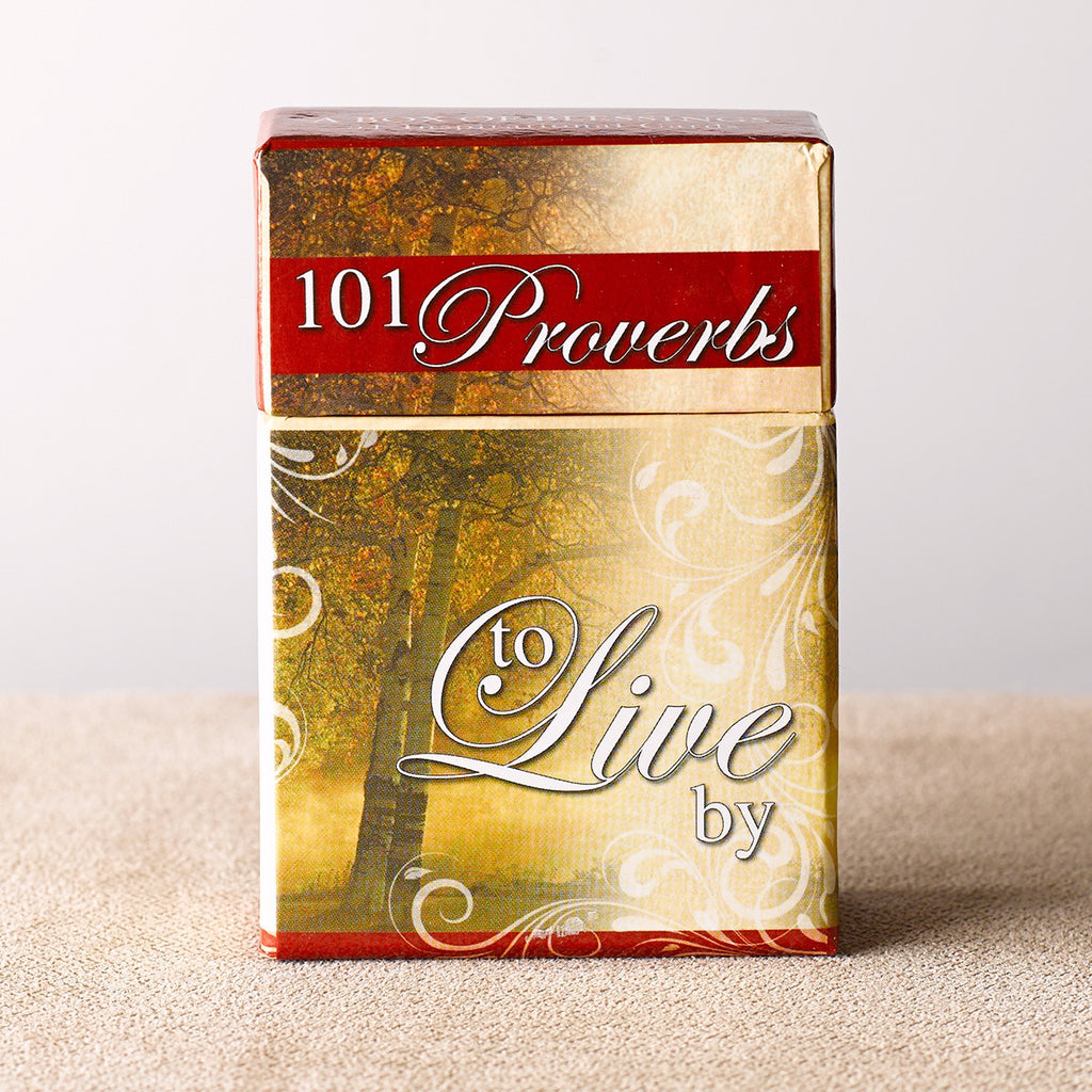 Box Of Blessings-101 Proverbs To Live By