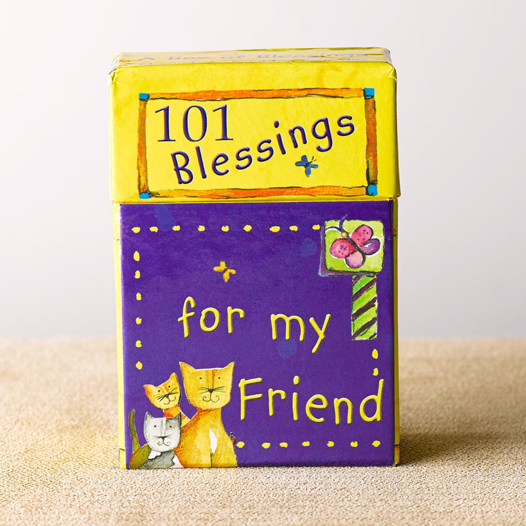 Box Of Blessings-101 Blessings For My Friend