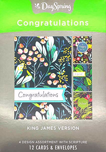 Card-Boxed-Congratulations Milestones (Box Of 12)