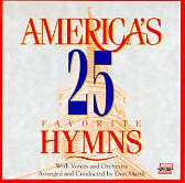 Audio CD-America's 25 Fav Hymns Vol 1 - Split