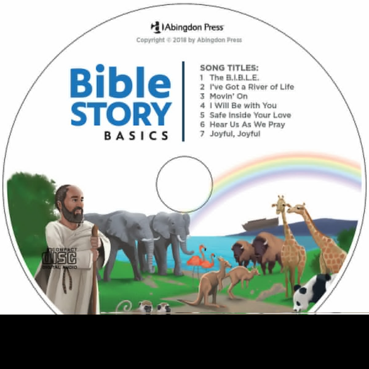 Audio CD-Bible Story Basics Take-Home CD (Pack Of 5)