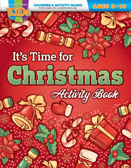 It's Time For Christmas Activity Book (Ages 8-10)