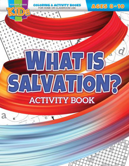 What Is Salvation? Activity Book (Ages 8-10)
