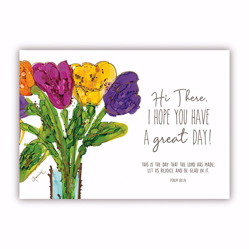 "Postcard-Hi There (6"" x 4.25"") (Pack Of 6)"