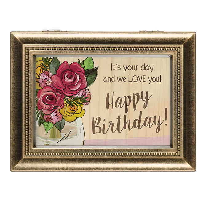 Music Box-Happy Birthday!-Recordable (8 x 6)