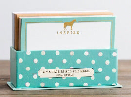 Card-Boxed-Back To Basics Correspondence Cards (Box Of 50)