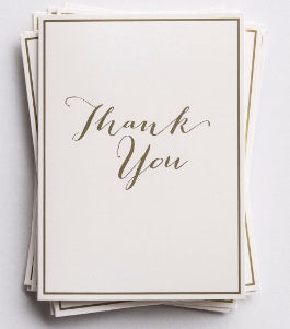 Note Card-Thank You Trend Note-Genesis 12:2 NKJV (Pack Of 10)