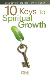 10 Keys To Spiritual Growth (Pack Of 5)