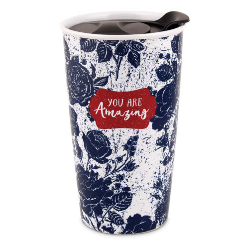 Tumbler Mug-Pretty Prints-You Are Amazing (#15061)
