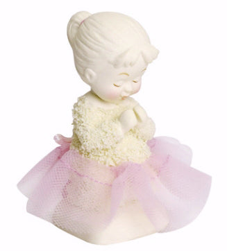 Figurine-Snowbabies-Saying Prayers (Girl)