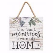 Jute Hanging Decor-The Best Memories (7 x 7)