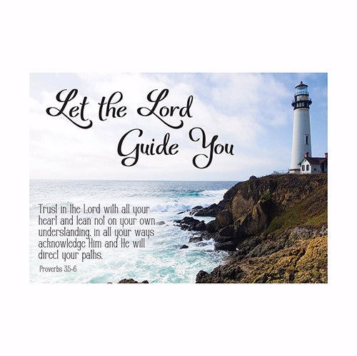 Postcard-Let The Lord Guide You (6 x 4.25) (Pack Of 6)