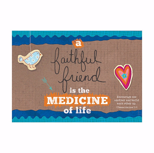 Postcard-Faithful Friend (6 x 4.25) (Pack Of 6)