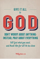 "Poster-Large-Give It To God (13.5"" x 19"")"