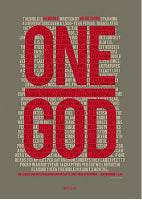 "Poster-Large-One God (13.5"" x 19"")"