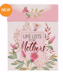 Conversation Starters-Life Lists For Mothers