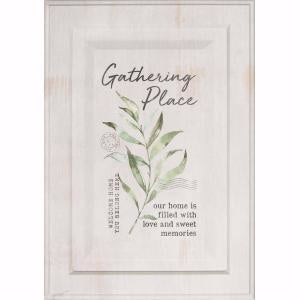 Wall Art-Cabinet Door-Gathering Place (10.5 x 15)