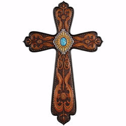 "Wall Cross-Belt Buckle (14"")"