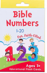 Boxed Cards-Bible Numbers (Set Of 40)
