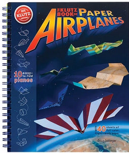 The Klutz Book Of Paper Airplanes (Ages 7+)