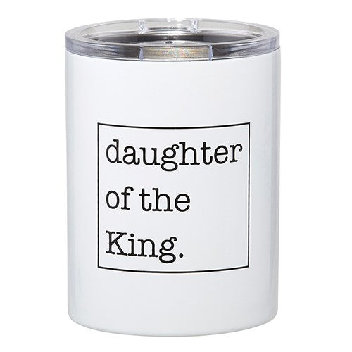 Stainless Steel Tumbler-Daughter Of The King (12 Oz)