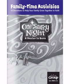 One Starry Night: Family-Time Activities Book (Pack Of 10)